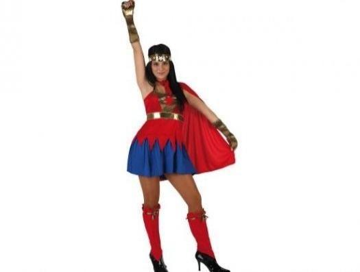 Disfraz Superheroína