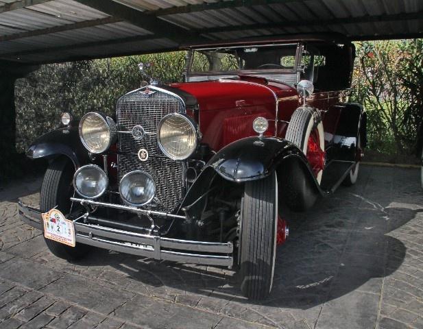 Ruta del Club de Automóviles Veteranos de Granada