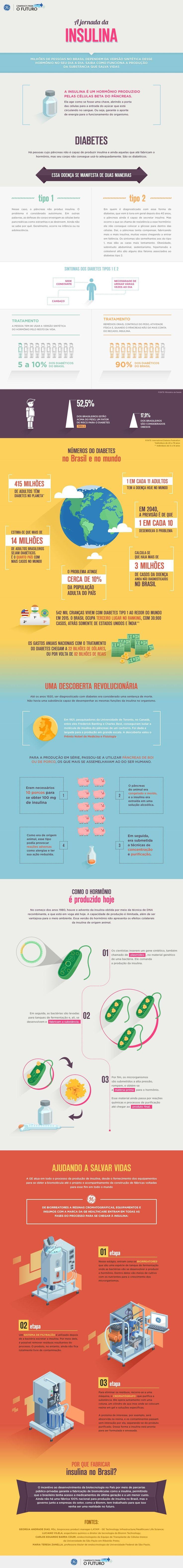 Saiba como funciona a produção de insulina!!!  :)