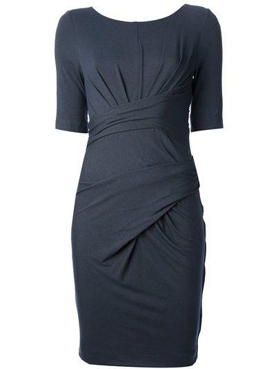 CARVEN Twist Front Dress