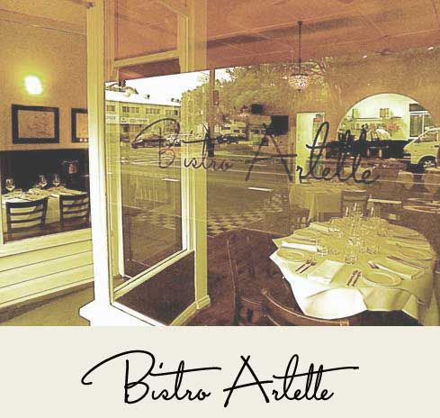 Welcome to Bistro Arlette