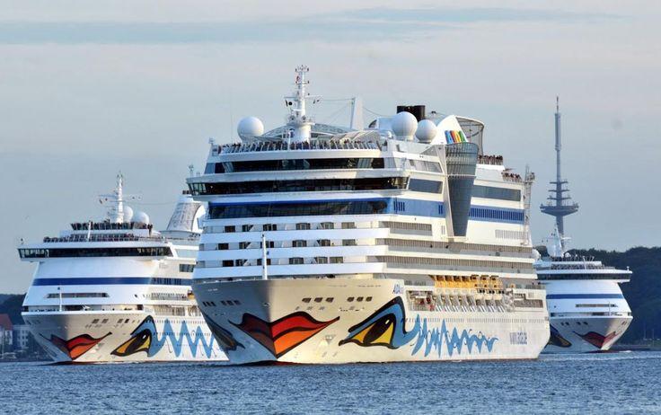 Am Samstag, 30. Juli 2016 waren erstmals drei AIDA Schiffe an einem Tag in Kiel zu Gast. AIDAvita hatte bereits um 6.30 Uhr am Ostseekai festgemacht, gefolgt von AIDAluna und AIDAaura, die gegen 8.…