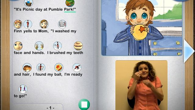 PuddingStone by SpecialNeedsWare ($19.99) a fun and interactive game for language development! • Three fun and interactive games in one platform • Sign language (ASL) captioning videos available for all of our stories in the Storytorium • Rich, interactive 3D graphics bring stories to life • Research-based ALP Symbols (animated) included in each game • Character-based video models to teach difficult tasks • Mini-modes within each game let you target different skills individually