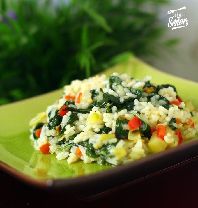 Arroz con verduras | Una receta fácil, rápida y sana