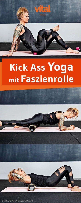 Yoga-Übungen für Rücken, Waden und Beine: Kick Ass Yoga ist orientiert an das körperorientierte Hatha-Yoga. Der Yoga-Stil bringt den Körper durch Anstrengung zu mehr Power und Funktionalität.