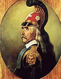 Ο Θεόδωρος Κολοκοτρώνης (3 Απριλίου 1770 - 4 Φεβρουαρίου 1843) ήταν αρχιστράτηγος και ηγετική μορφή της Επανάστασης του 1821, πολιτικός, πληρεξούσιος, σύμβουλος της Επικράτειας. Έμεινε γνωστός και ως Γέρος του Μοριά.