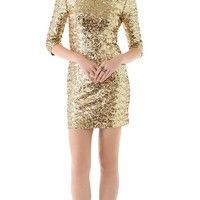 BB Dakota Neva #Sequin #Fitted #Dress #sparkly #gold #clothing #wear #fashion #style