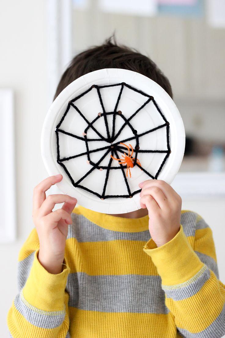 delia creates: Spiderweb plates