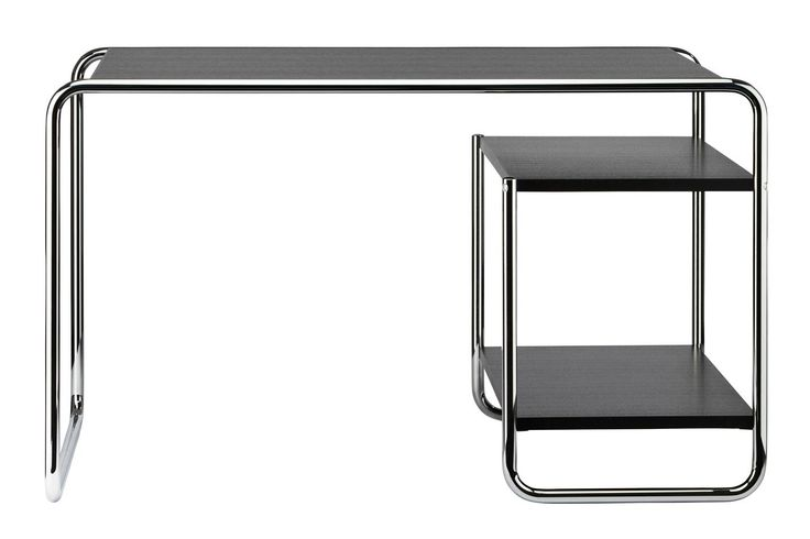 Der Stahlrohr-Schreibtisch S 285: Ein unübertroffenes Stück Zeitgeschichte - THONET-Möbel - Stühle, Tische, Sessel und Sofas, Design-Klassiker aus Bugholz und Stahlrohr