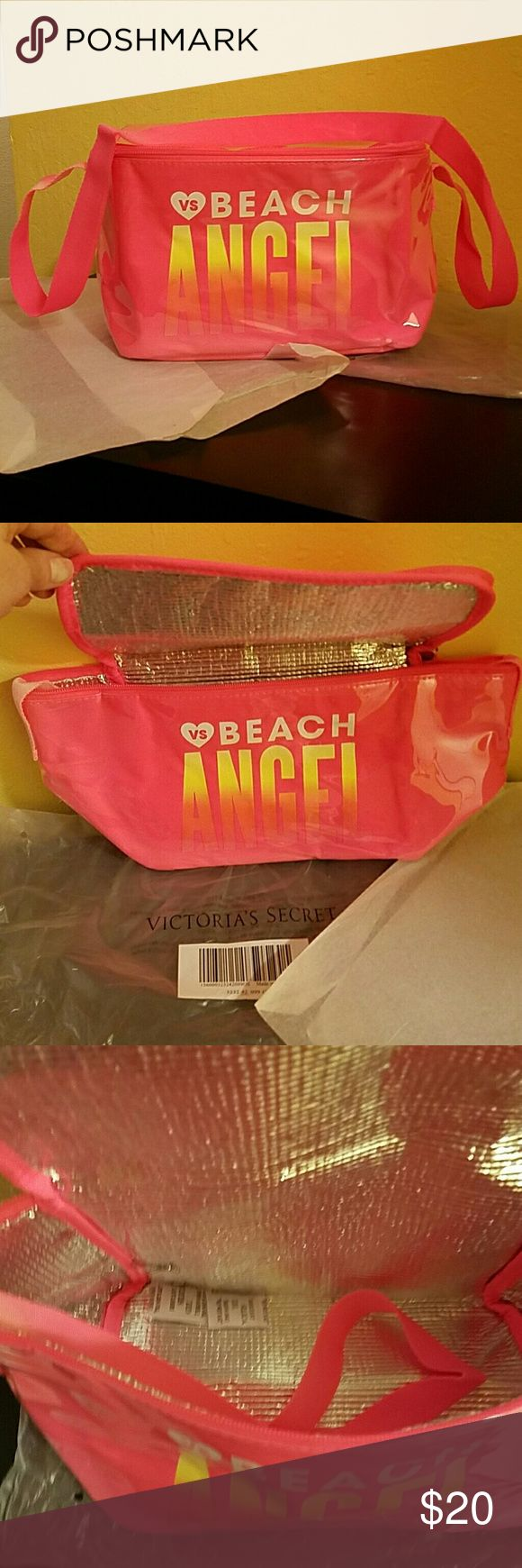 NWOT~🌞 VICTORIA'S SECRET MINI COOLER BRAND NEW...VS mini insulated cooler/lunch tote...whichever works for you. 😊  Cute and Sporty!  In original packaging. VICTORIA'S SECRET  Accessories