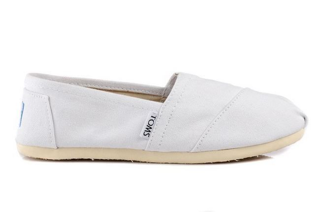 New Arrival Toms women shoes new white