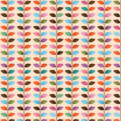 """Leaf Stem""  Plant Fabric by Spectrix"