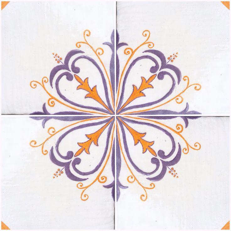 Handmade tiles #ceramics #tiles #ceramic #керамика #плитка