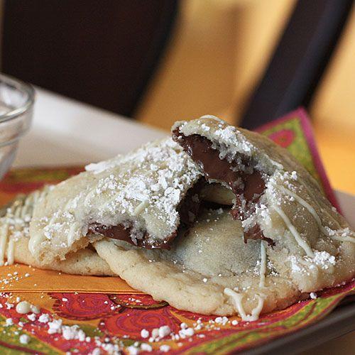 Nutella Ravioli Cookies