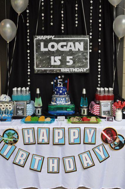 79 best Star Wars Birthday Party images on Pinterest Birthday