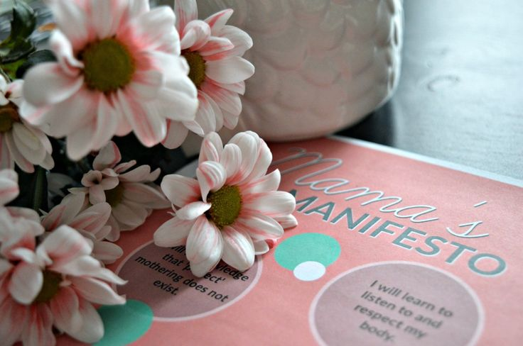 Mama's Manifesto - Ten Commitments to Living Your Best Life.