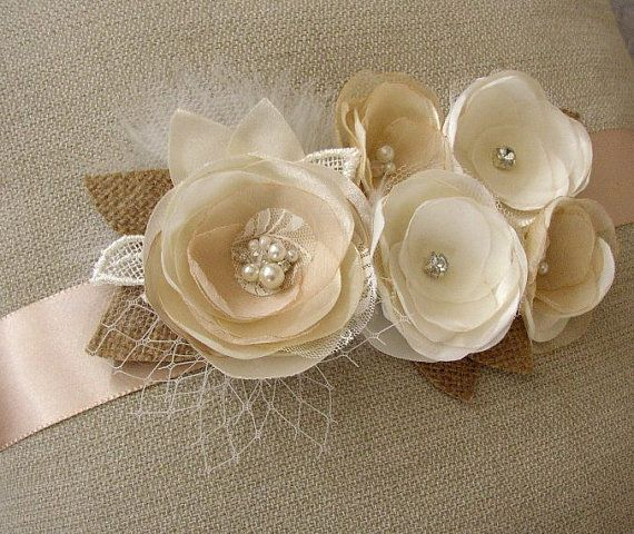 Hey, I found this really awesome Etsy listing at https://www.etsy.com/listing/210503149/rustic-wedding-sash-ivory-white