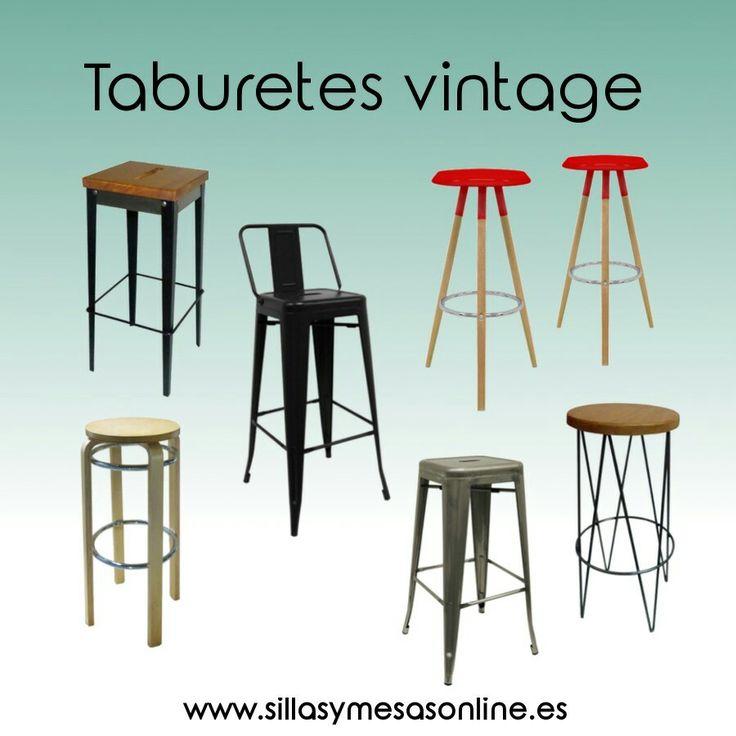 Taburetes vintage para hostelería. Variedad de estilos y colores. Entra y descubre todos los modelos 😄 https://sillasymesasonline.es/mobiliario-vintage/  #sillas #mesas #taburetes #vintage #retro #nordico #industrial #mobiliario #restaurantes #bar #hosteleria