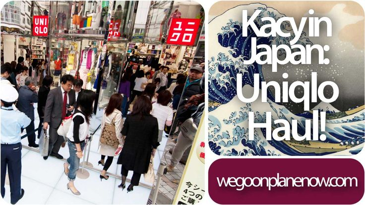 One thing you can't avoid doing when you live in Japan is stock up on Uniqlo brand items. Here is some items that Kacy has nabbed in her first few weeks in Japan.