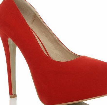 Ajvani - Zapatos de vestir para mujer Black Matts 38 (5 UK) 2TXxmO0h5