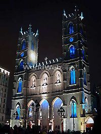 Old Montreal - Notre Dame Basilica