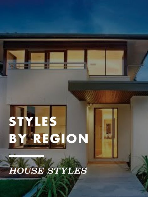 ABOUT THIS ARTICLE: Adobe ramblers, southern charmers and everything in between. The most popular home styles by location.