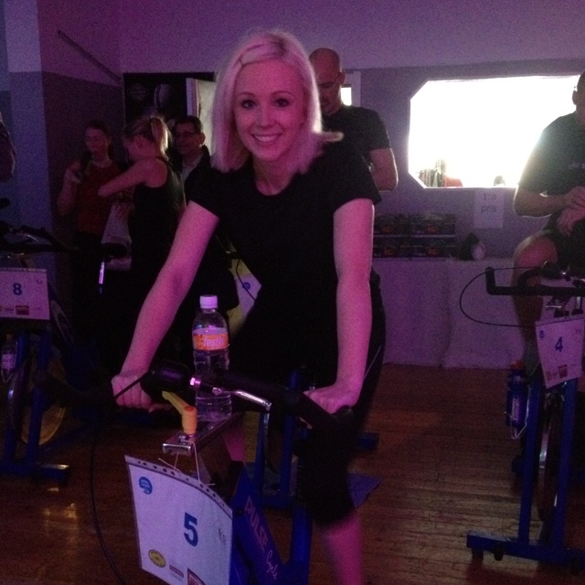 Marie in team Nature Calling at Spin of Hope!!