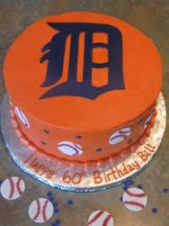 Image result for detroit tigers jersey cake