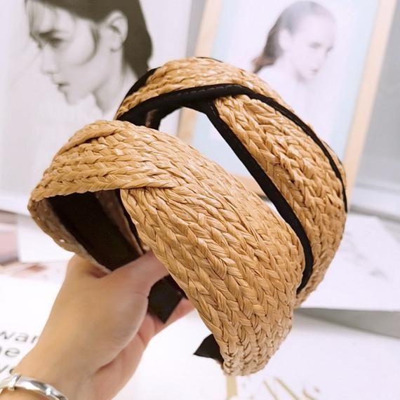 WOMEN SOLID VELVET KNOT CROSS HAIR HOOP WIDE HEADBAND PARTY HAIR BAND NICE
