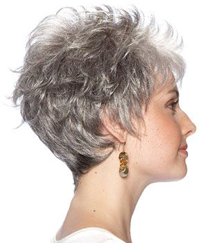 Short hair  ~~~This is like my haircut, with blonde help from my colorist.