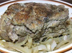 Pork Pot Roast in the Slow Cooker | AllFreeSlowCookerRecipes.com