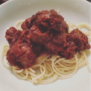 Eating Yourself Slim: Spaghetti & Meatballs