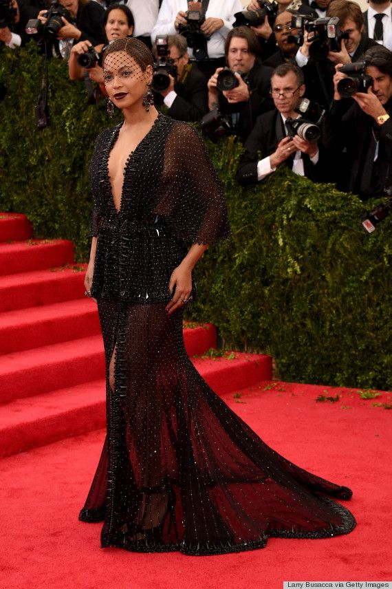 Beyonce stuns at the Met Gala