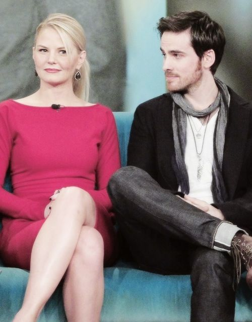 Jennifer Morrison Amp Colin O Donoghue Out Of Character