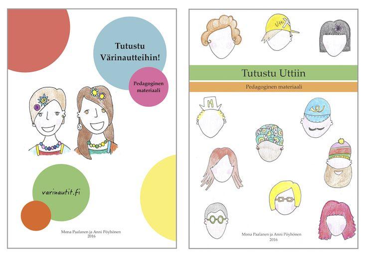 Värinauttien pedagogiset oppaat voi ladata nettisivuilta ilmaiseksi