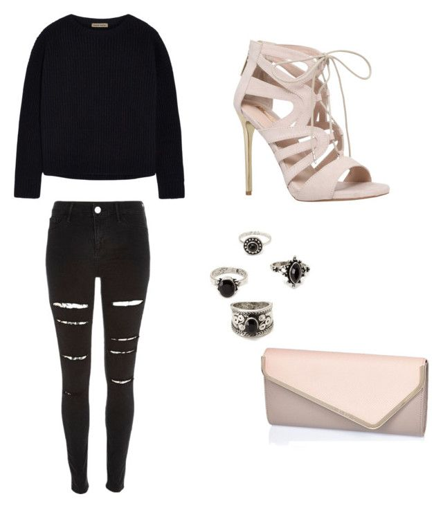 """""""Untitled #48"""" by mathilde-dz on Polyvore featuring Tomas Maier, Carvela, River Island, Forever 21, women's clothing, women's fashion, women, female, woman and misses"""