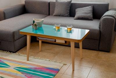 Stolik kawowy SOLO // Wood&Paper