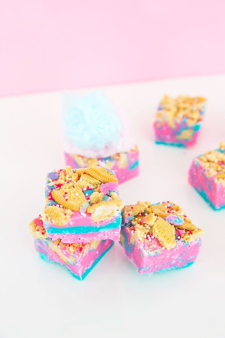 Aww, Sam: Loaded Cotton Candy Fudge Recipe