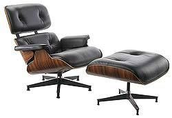 The Real McCoy - Eames Lounge (670) and Ottoman (671)