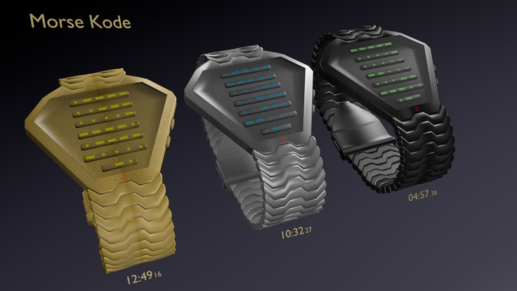 Morse Kode Watch 08