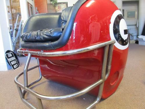 Great Fiberglass Georgia Bulldog Helmet Chair | EBay