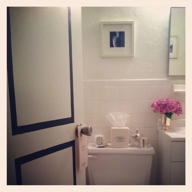 great idea for apartment rental doors.  Habitually Chic®