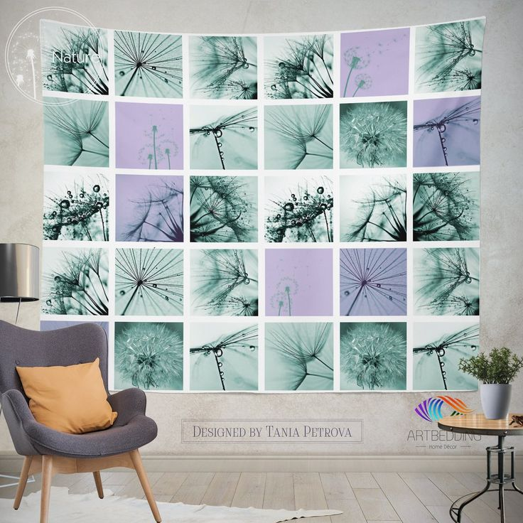 Best Nature Inspired Wall Tapestries Nature Perfection Art - Portal 2 wall decalsbest wall decals images on pinterest