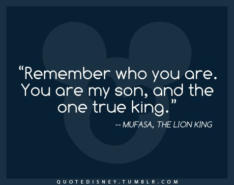 lion king quote. If its a boy, a lion king themed nursery!