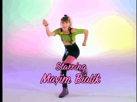 Blossom!  I remember she did a back walkover during this intro... I thought she was the coolest