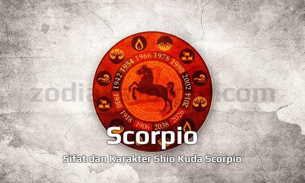 Shio Kuda Scorpio Sifat Kepribadian Yang Memberontak