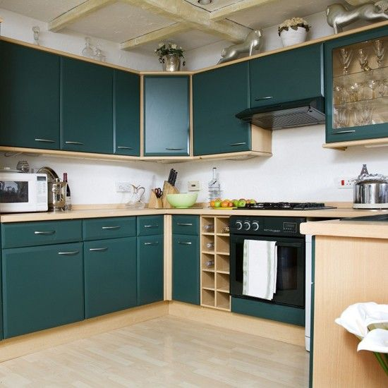 Cabinet Color Dream Home Ideas Pinterest Teal Cabinets Kitchen