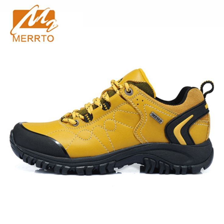 52.5$  Watch more here - 2017 Merrto Women Walking Shoes Waterproof Outdoor Shoes Breathable Sport Shoes Full-grain Leather For Women Free Shipping 18251   #SHOPPING