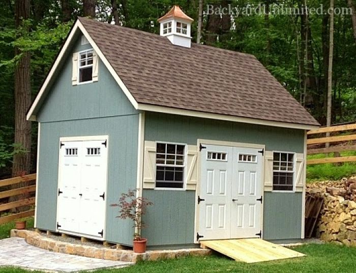Best 57 3rd garage ideas on pinterest toy house for Playhouse with garage plans