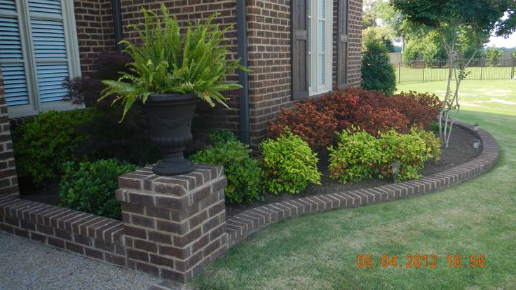 1000 ideas about low maintenance landscaping on pinterest for Easy care shrubs front house